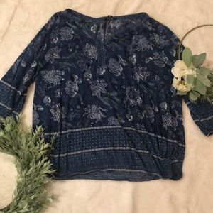 Lucky Brand Plus Top